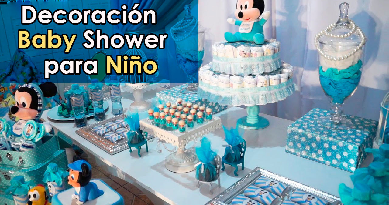 Mesa Principal De Baby Shower Nino.Decoracion Baby Shower Nino Decoracion Para Fiestas