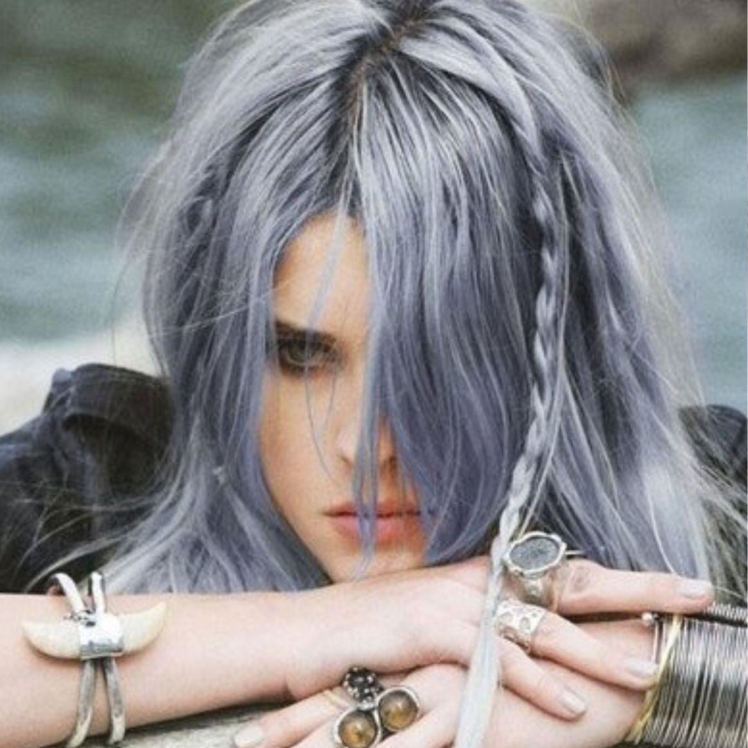 Haartrend Grau