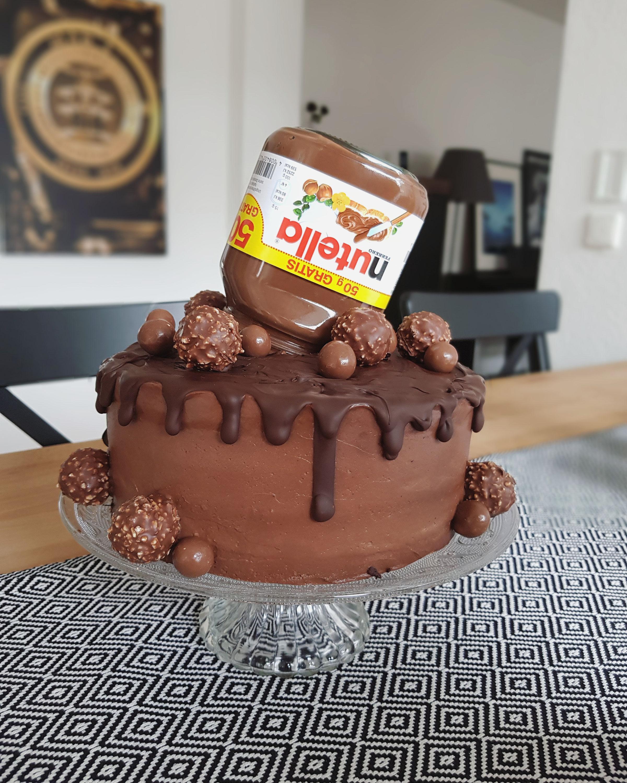 Nutella Torte Mybakediary