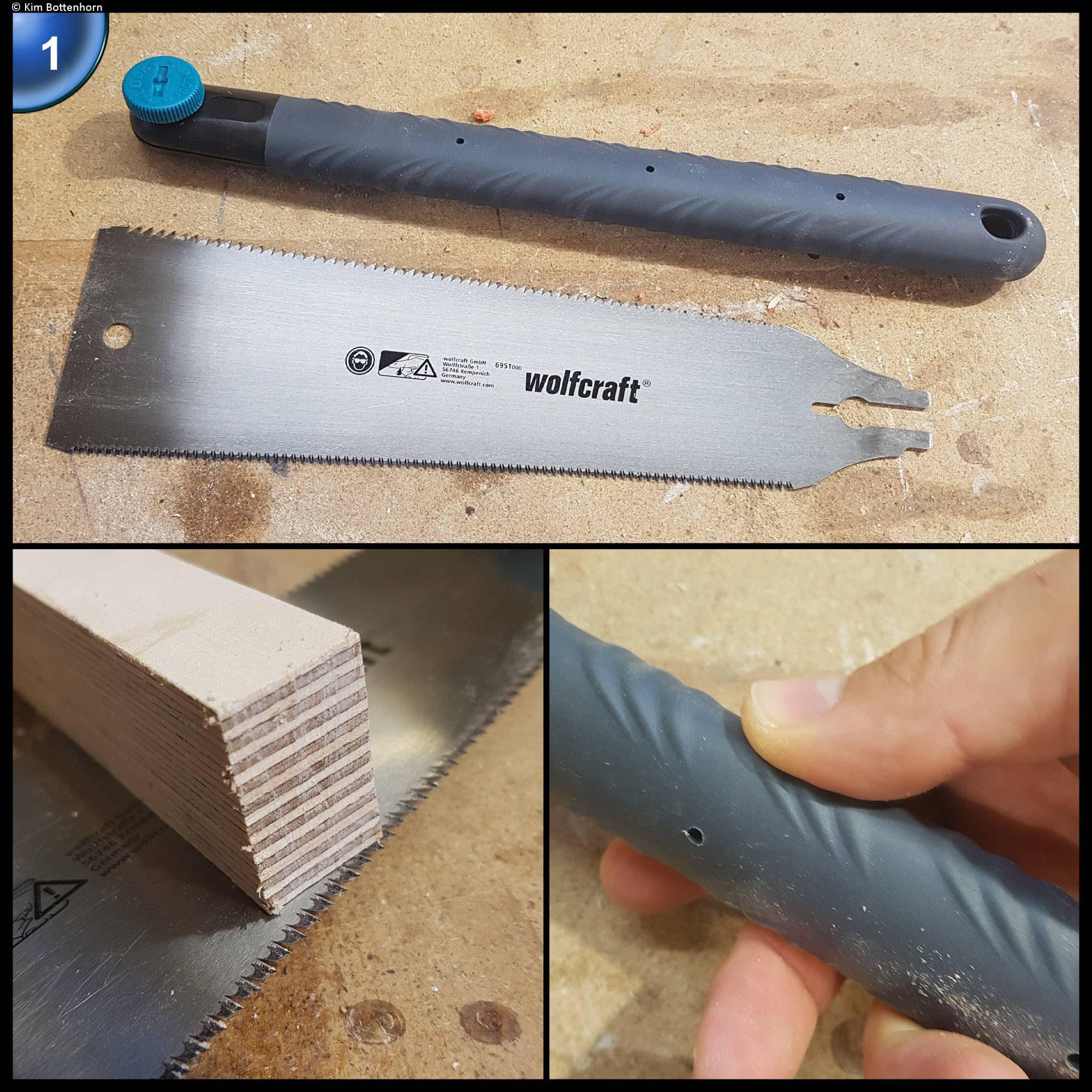 Wolfcraft 6951000 Japansäge 570 mm