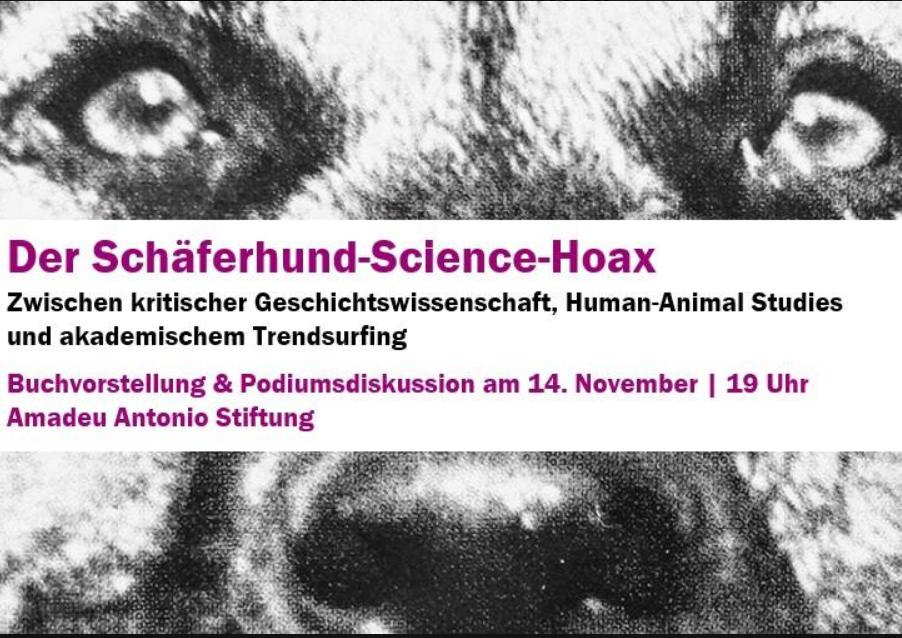 Buchvorstellung Der Schäferhund Science Hoax Dr Enrico Heitzer