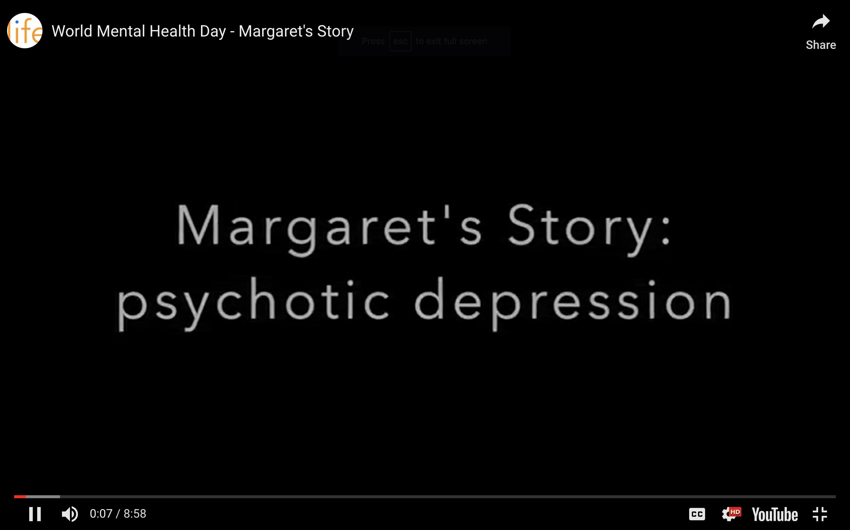 Margaret's Story - psychotic depression - Lifeswitch Coaching