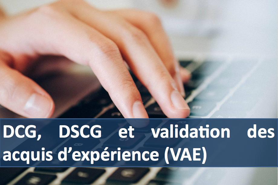 Calendrier Dscg 2019.Dcg Dscg Et Validation Des Acquis D Experience Vae