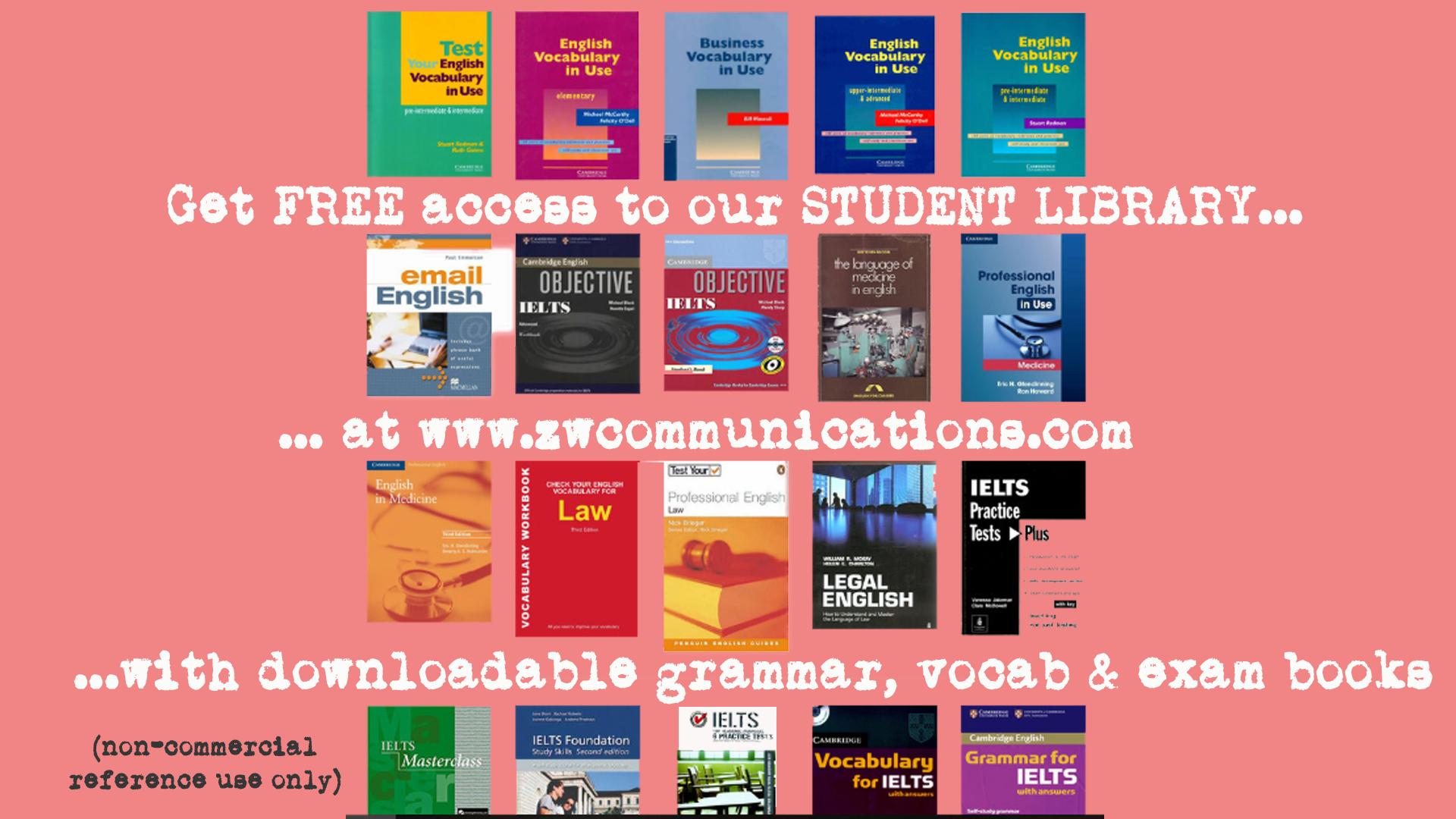 English Grammar - Learn English with ZakWashington