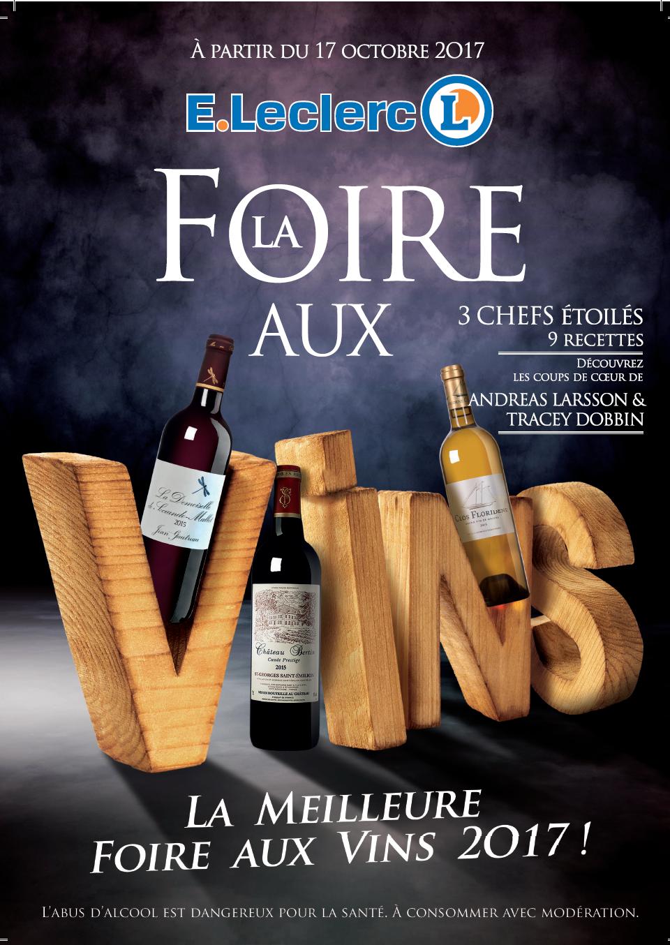 Foire aux vins leclerc 2017 for Foire de moulins 2017