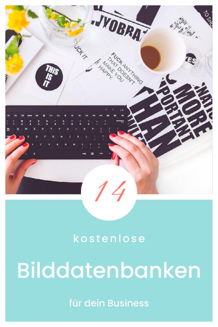 Gratis Bilddatenbanken - Grafikdesign für selbständige Frauen