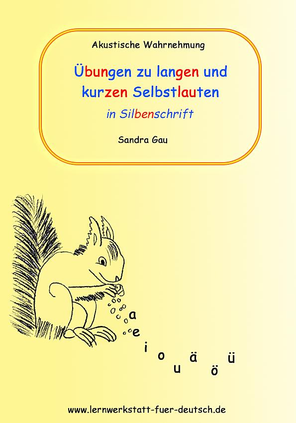 Übungen in zweifarbiger Silbenschrift - Lernwerkstatt für Deutsch