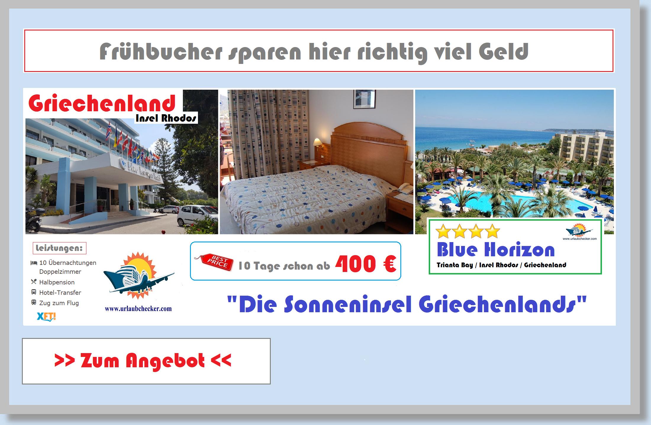 Hotel Blue Horizon Insel Rhodos Urlaubchecker
