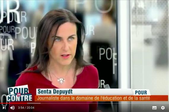 Senta Depuydt invitée sur le plateau de RTL-TVI: Les vaccinations  sont-elles dangereuses? - Sûreté Vaccins