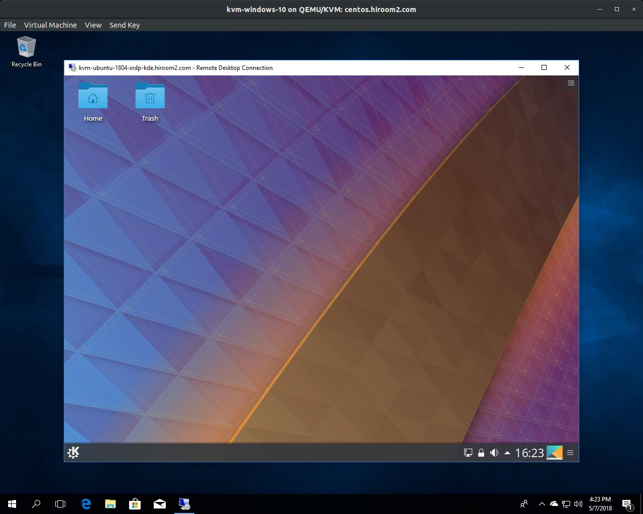 Ubuntu 18 04: Connect to KDE desktop environment via XRDP