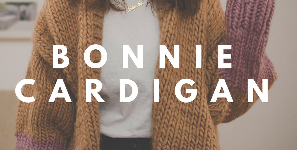 Knitting Journal App : Free knitting pattern make your own chunky cardigan