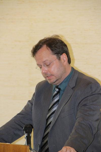 Martin Frenzel: Plädoyer für den Mut, NEIN zu sagen / Foto: Markus Landzettel