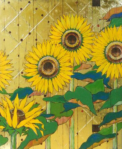夏物語 F12 日本画