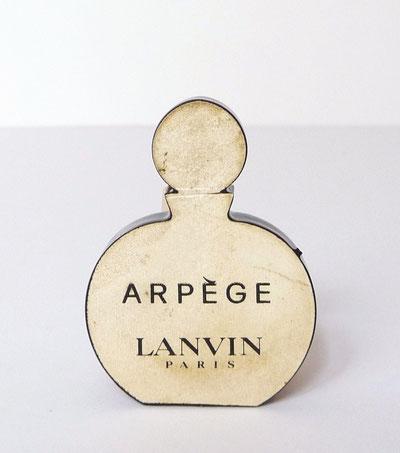ARPEGE - REPLIQUE FLACON A PARFUMER : VERSO