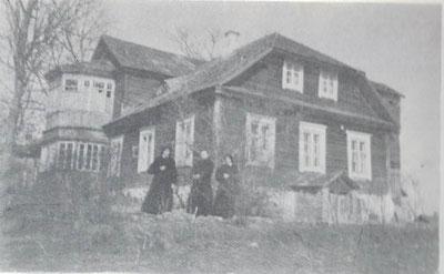 Das erste Haus unserer Schwestern in Druja