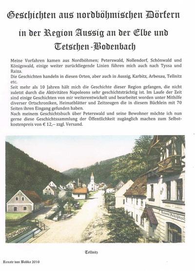 Geschichtsbuch über Peterswald
