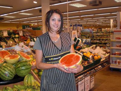 Christina Hingst, Auszubildende im Familienbetrieb EDEKA aktiv markt Hingst