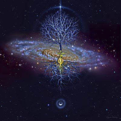 Cosmic -Tree - Composition by Ag. Addey