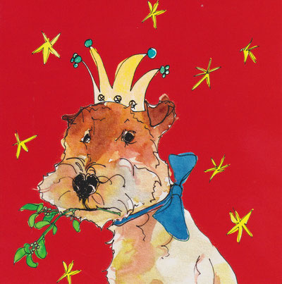 Quelle Karte: christmas dogs, pauline alice designs, The Art Group, The Netherlands