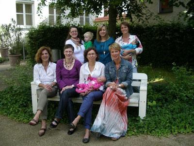 """Das """"ElternBedenkZeit""""-Team von Caritas, Elternschule und Kleine Hände"""