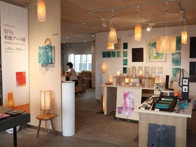 パレンタ 灯りと和紙アート展