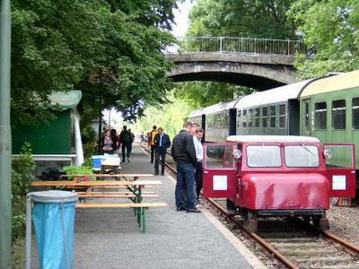 Railcar Carlie Museum Kleinbahnhof Mahner