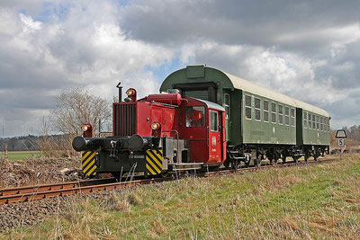 "The ""Desert Express"" on the museum railway in Warnetal - Picture Author: Joachim Fricke"