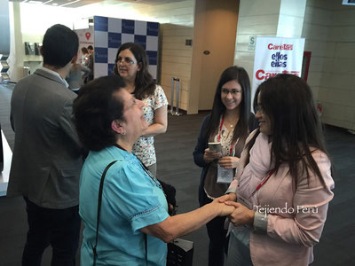 Tejiendo Perú en el NED2015 Seminarium Perú