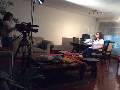 Tejiendo Perú en el programa Umbrales de Tv Perú!