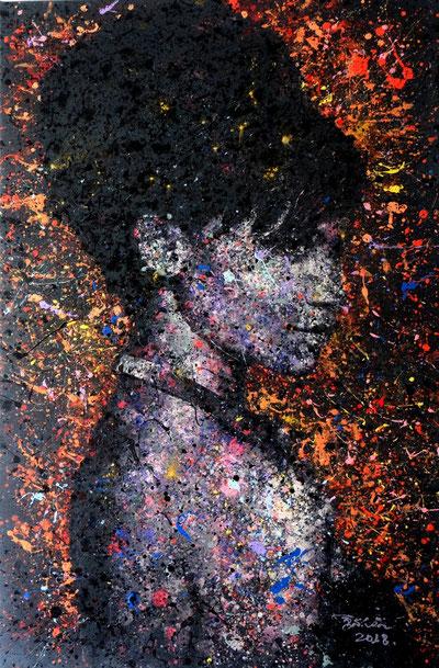 """""""Eskimo"""" - Gemälde von Adam, 100cm*150cm, 2400€"""