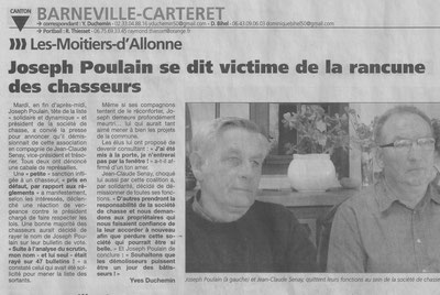 La Presse de la Manche - 27 mars 2014