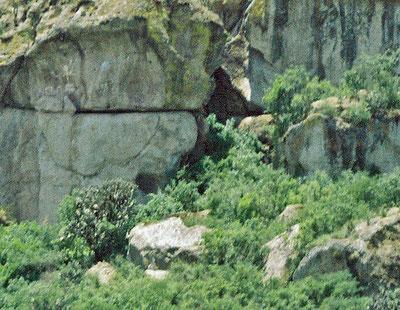 世界遺産「オアハカ中部渓谷ヤグルとミトラの先史時代洞窟(メキシコ)」、ギラ・ナキツ洞窟