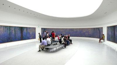 オランジェリー美術館、睡蓮の間、第一室