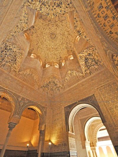 ナスル朝宮殿ライオン宮、アベンセラヘの間