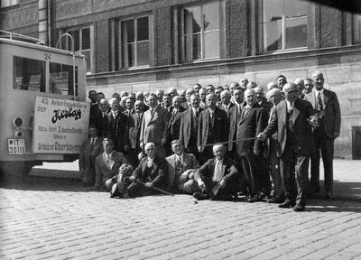 Ausflug der Jubilare 1929