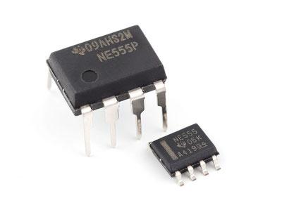 555 Temporizador Cicuitos Integrados CI Electronica Electronico Guatemala ElectronicaSMD