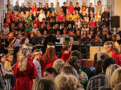 Aufführung in Naumburg, 2014 (Foto Thomas Rode)