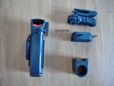 Hoerneke Tierabwehrspray mit Laservsier und Energizer Hardcase Tango