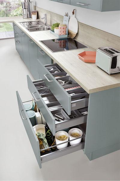 """Cocina modelo """"Touch Concept"""" de ERGO KUTCHEN"""