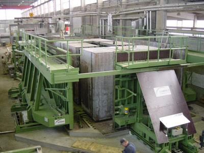 Molde para garajes prefabricados