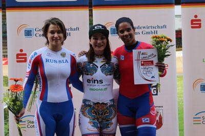 Sieger Keirin Frauen Foto: Manfred Heinrich