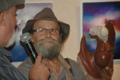présentation du sculpteur serge sallan