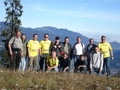 Team-Seminar auf dem Kreuzjoch