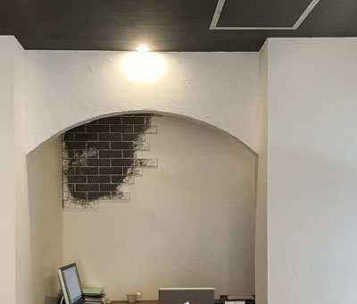 Rの下がり壁