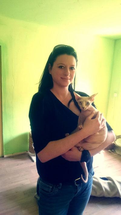 Katzendame Emily hat ihr Zuhause gefunden :-)