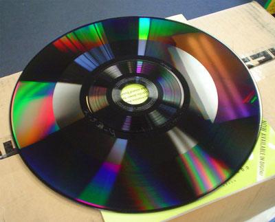CED disc