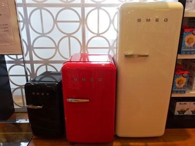 欧州でも愛される、イタリアデザインSMEGの冷蔵庫