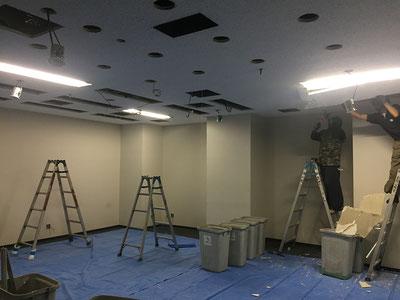 中央区の天井,解体費用