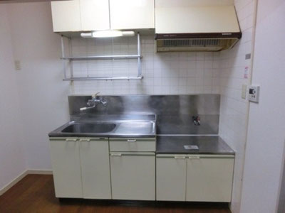 立川市キッチン設備解体費用