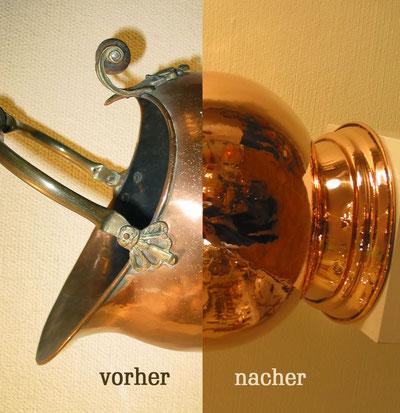 aufarbeitung reparatur nordfriesische metallkunsts. Black Bedroom Furniture Sets. Home Design Ideas